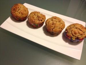 muffin fragola